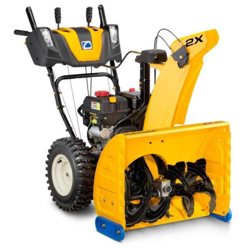 2X 26 in. 243 cc Two-Stage Gas Snow Blower with Electric Start, Power Steering and Steel Chute