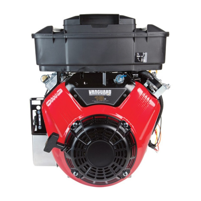 Briggs and Stratton Vanguard Shaft, V-Twin Horizontal Engine with Electric Start - 570cc, 1in. x 2 29-32in.