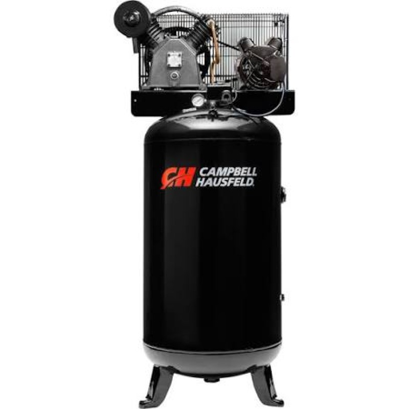 Campbell Hausfeld Electric Stationary Air Compressor -  Single Phase7.5 HP, 23.7 CFM 175 PSI, 230 Volt
