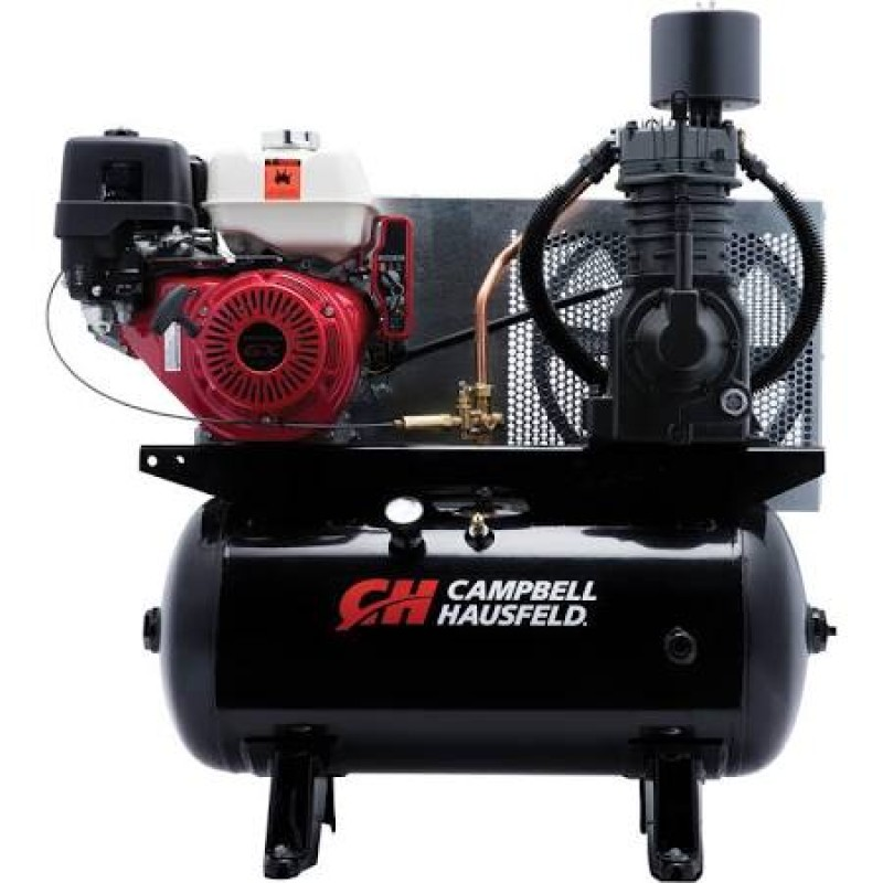 Campbell Hausfeld Service Truck Series Air Compressor - Honda GX390 Engine, 25.1 CFM 175 PSI - 13 HP