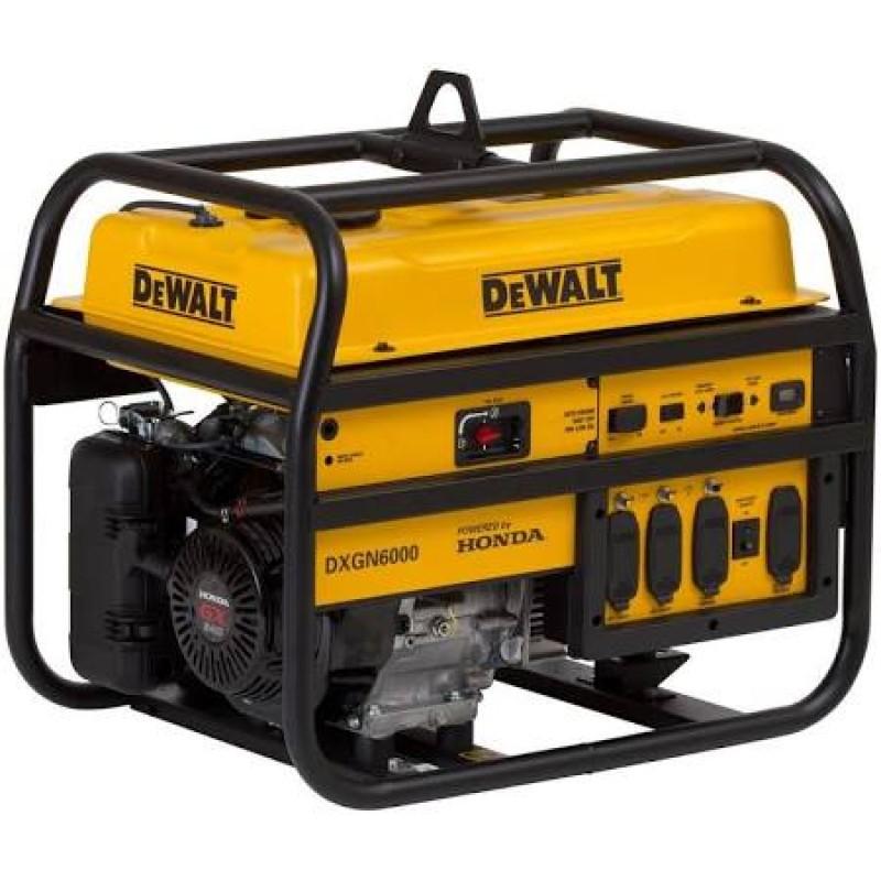 DeWalt Professional Portable Generator w- Honda GX Engine DXGN6000 - 5300 Watt