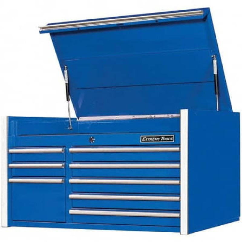 Extreme Tools 8 Drawer Top Chest- Blue 41-in