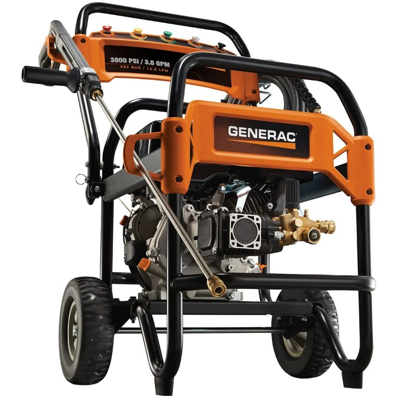 Generac Commercial Pressure Washer 3800PSI (3.6 GPM)
