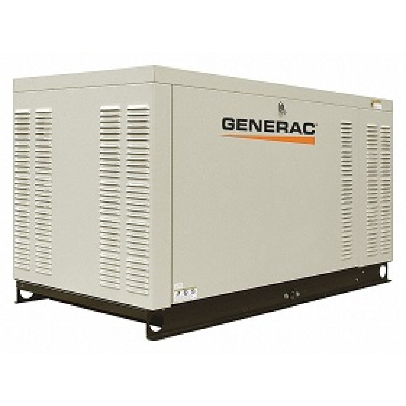 Generac Commercial Series Aluminum Enclosed Generator - GNC-QT08046X 80kW 3,600-Rpm