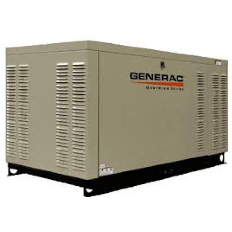 Generac Commercial Series Steel Enclosed Generator - GNC-QT02515 25kW 3,600-Rpm