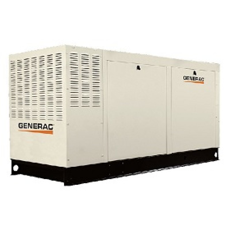 Generac Commercial Standby Generator (277 - 480V - NG) SCAQMD Compliant -Series 70 kW