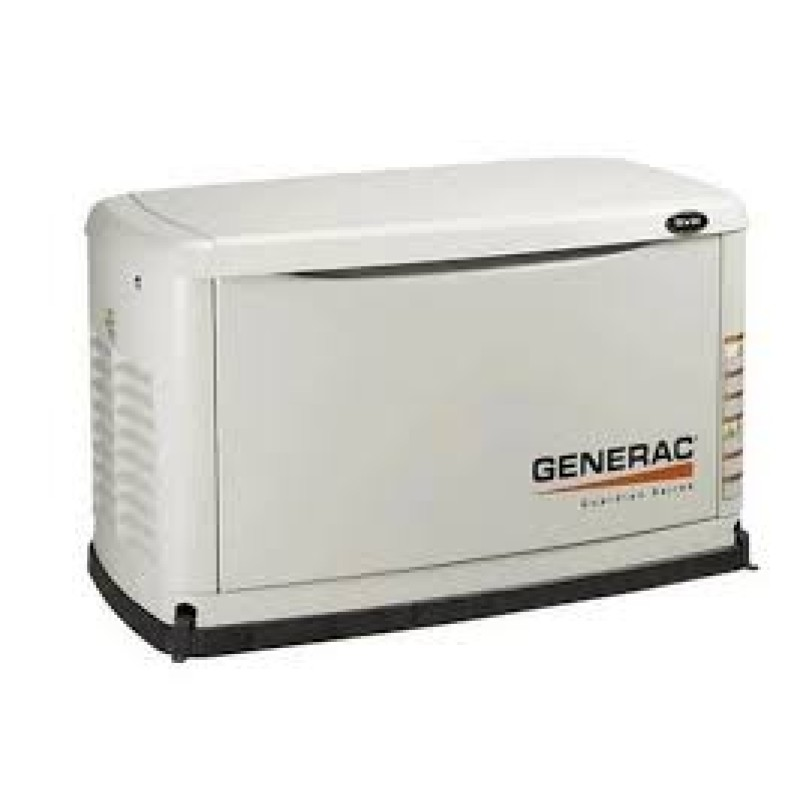 Generac Guardian Standby Generator System (50A 10-Circuit Automatic Switch) 8kW