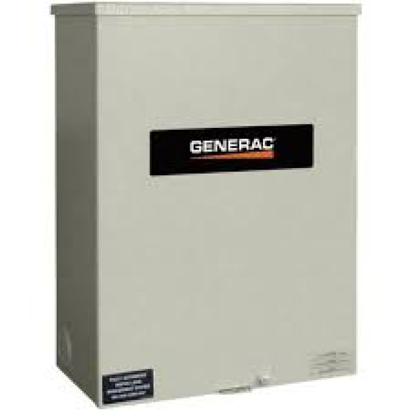 Generac Outdoor Automatic Transfer Switch 120 - 240V RTSN600J3 Guardian 600-Amp