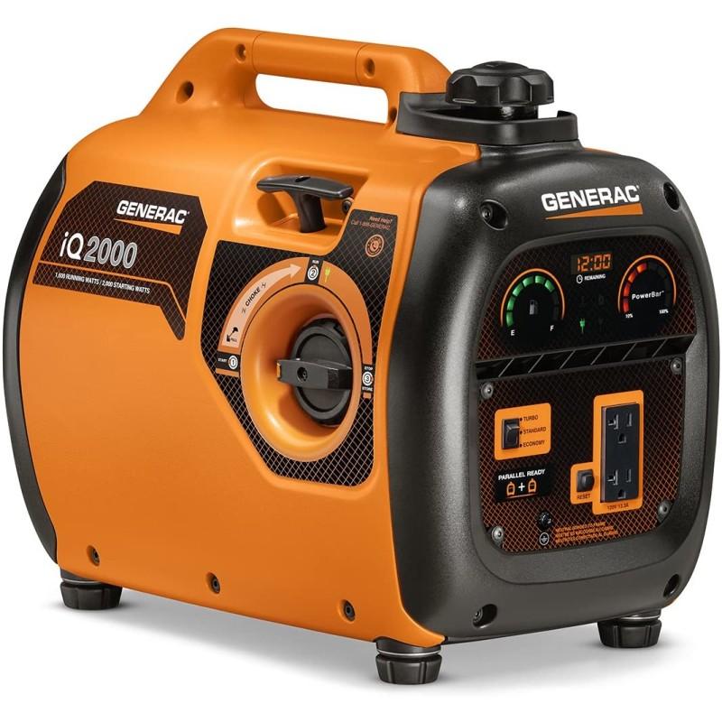 Generac Recoil Start Portable Generator 6866 iQ2000 2,000-Watt