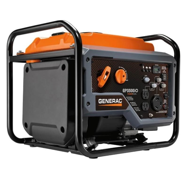 Generac Recoil Start Portable inverter Generator, GP3500IO 3,500-Watt 212cc