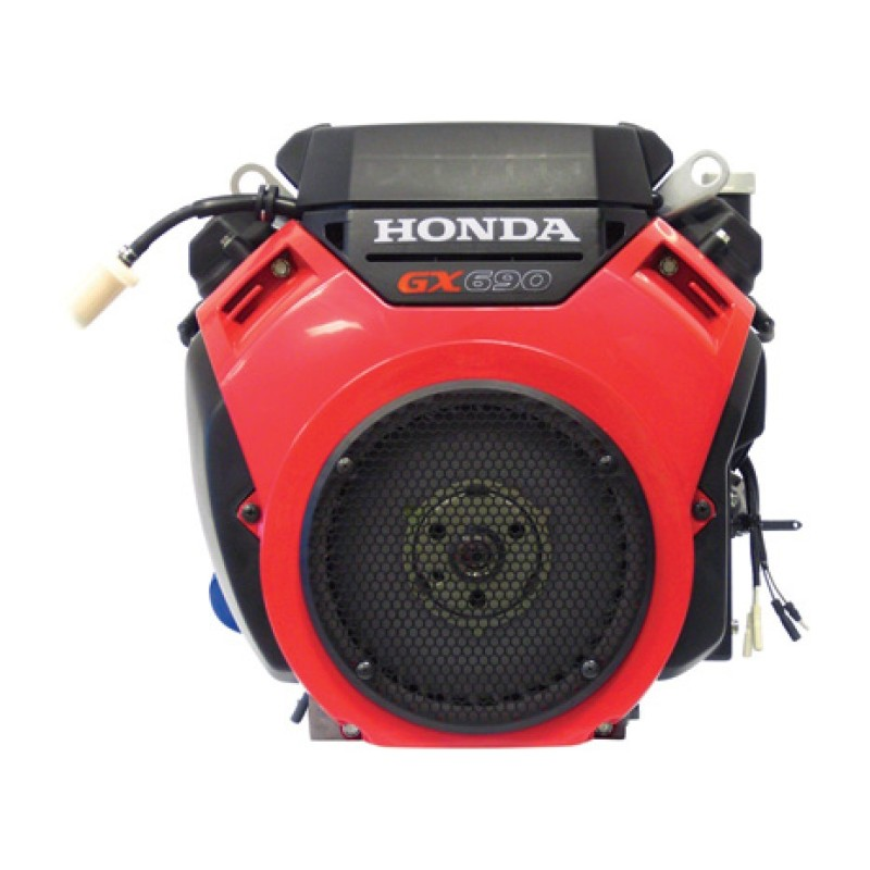 Honda 688cc GX Series Shaft - V-Twin OHV Engine with Electric Start - 688cc, 1 1-8in. x 2 29-32in.