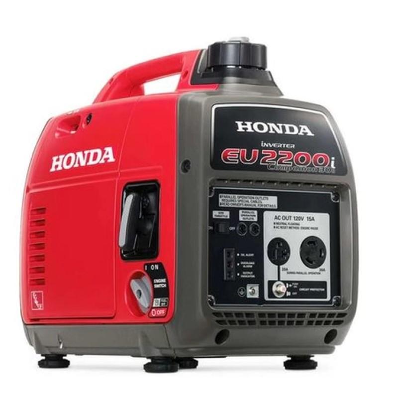 Honda Companion Recoil Start Portable inverter Generator -  EU2200ic 2200-Watt 121cc