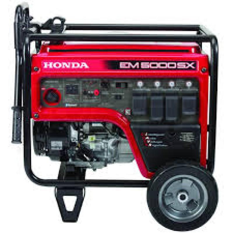 Honda Electric Start Portable Generator (CARB), EM5000 - 4500 Watt