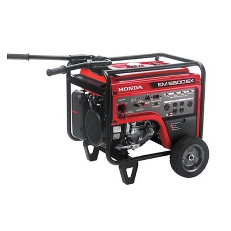 Honda Electric Start Portable Generator (CARB), EM6500 - 5500 Watt