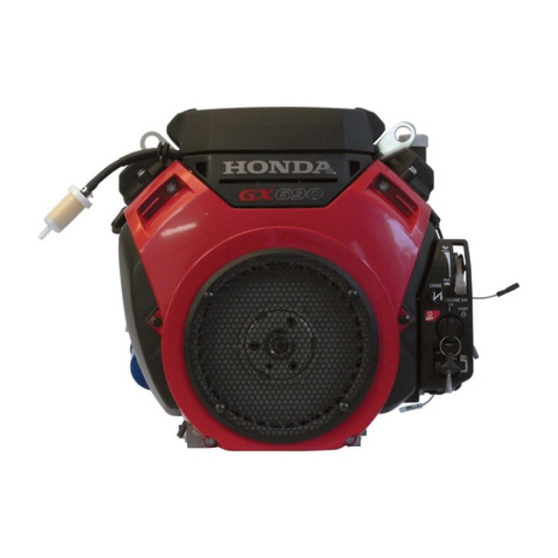 Honda GX Series Shaft - V-Twin OHV Engine with Electric Start - 688cc, 1 1-8in. x 3.55in.