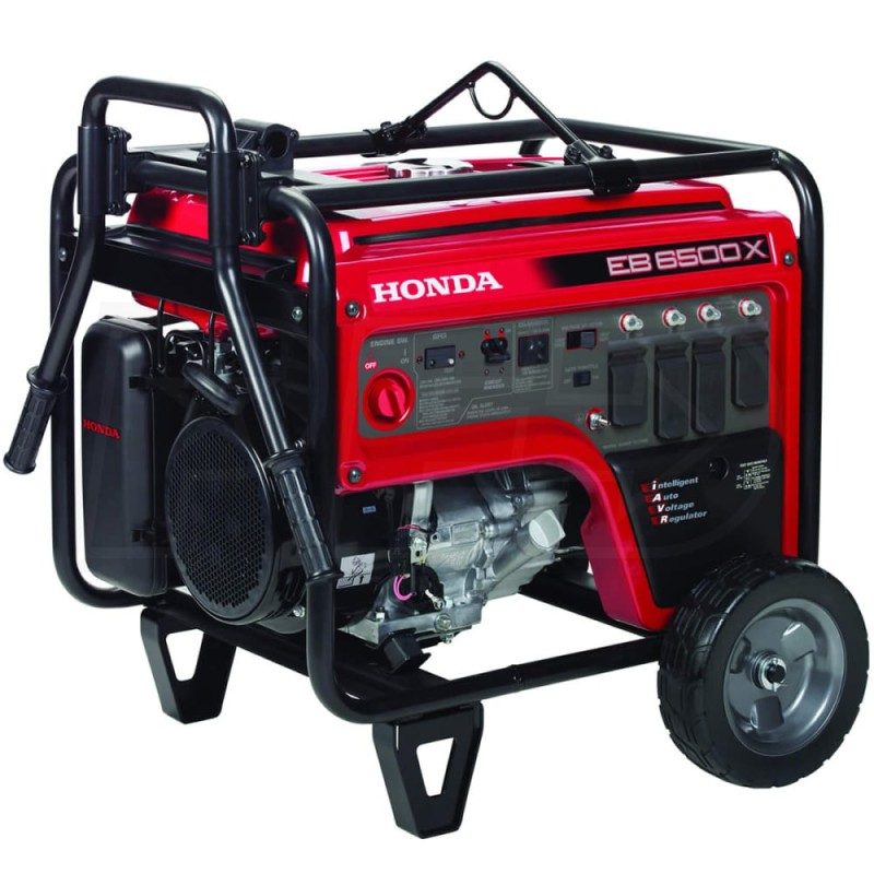 Honda Portable Industrial Generator w- GFCI Protection (CARB), EB6500 - 5500 Watt