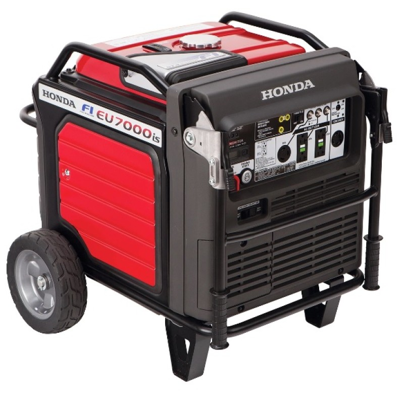 Honda Quiet Light Weight inverter Generator -  EU7000IS 7000-Watt Super 120-240-Volt
