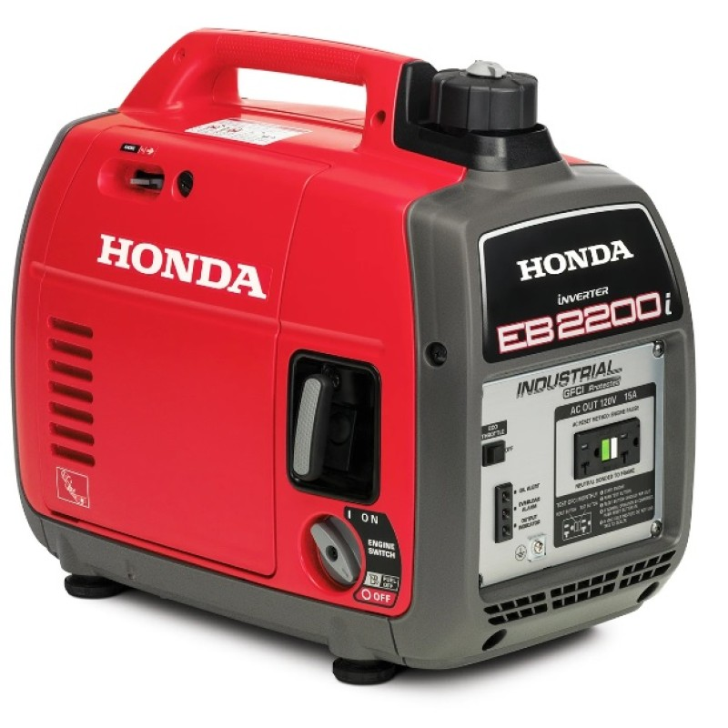 Honda Recoil Start Portable inverter Generator - EB2200i 2,200-Watt 121cc