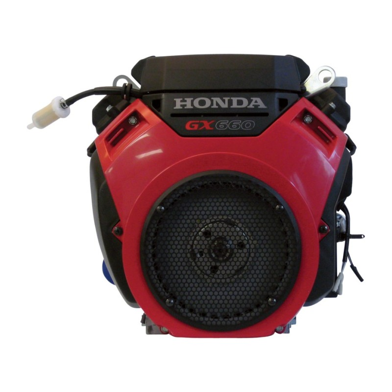 Honda V-Twin Horizontal OHV Engine with Electric Start – Shaft, 688cc, GX Series, 1 1-8in. x 3.55in.