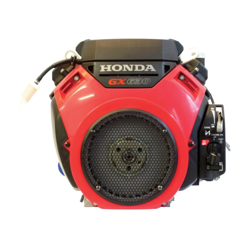 Honda V-Twin Horizontal OHV Engine with Electric Start – Shaft, 688cc, GX Series, 1in. x 2 29-32in.