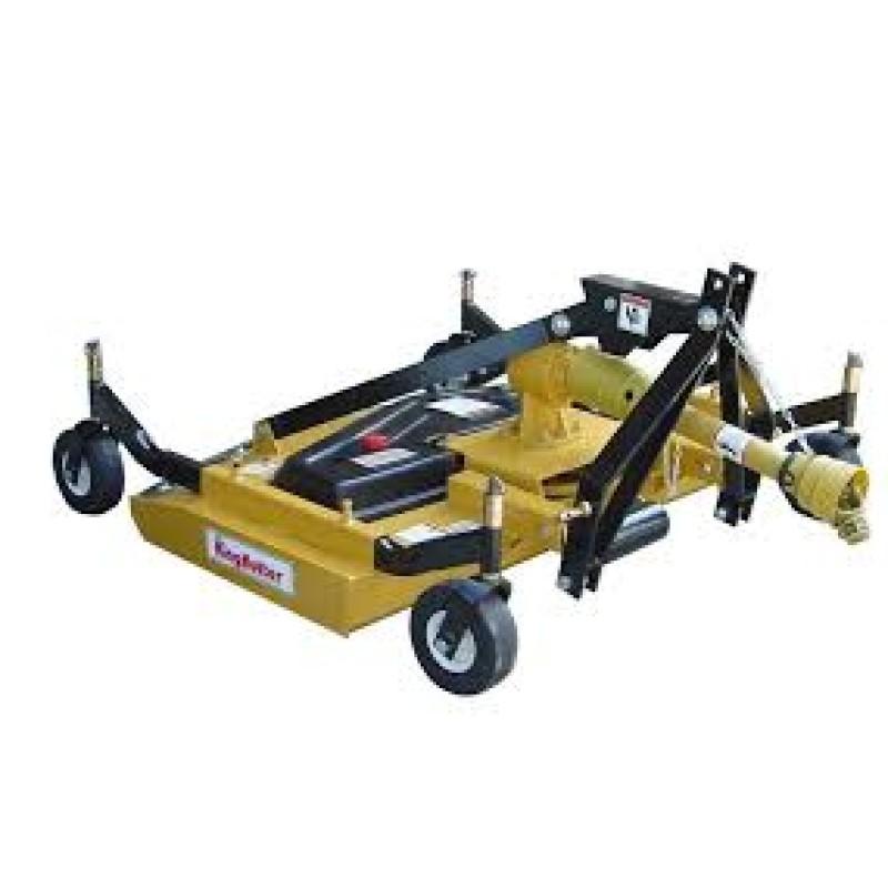 King Kutter Rear Discharge Finish Mower - 72in. W- Double V-Belt, Model, RSFM-72