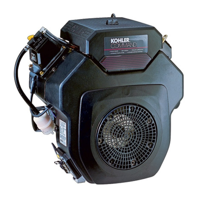 Kohler Command Pro Horizontal Simplicity Replacement Engine with Electric Start - Shaft, 674cc, 1.125in. x 2.79in.