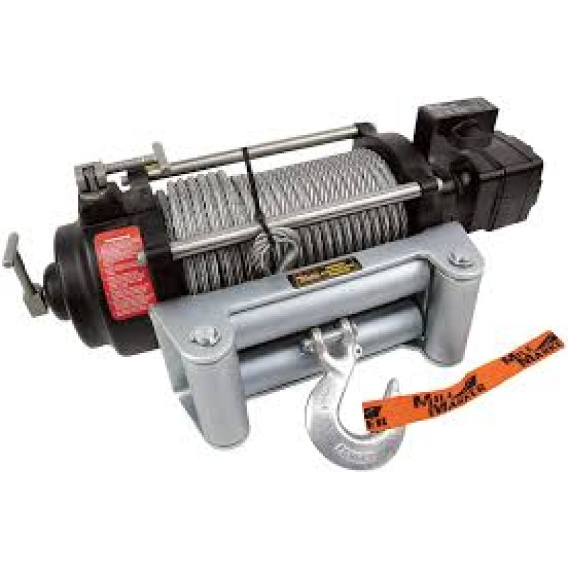 Mile Marker HI-Series Hydraulic Winch - Capacity, 12 Volt DC, 10,500-lb.