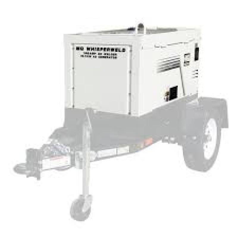Multiquip DLW300ESA1 Diesel Engine Welder or Generator - 59 dBA 300 Amp 10.5 kW
