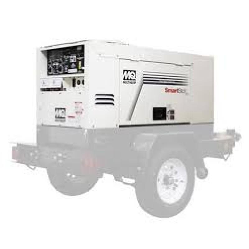 Multiquip DLW400ESA4 Diesel Welder or Generator - 68 dBA 340 Amp 140 kW 240 Volt