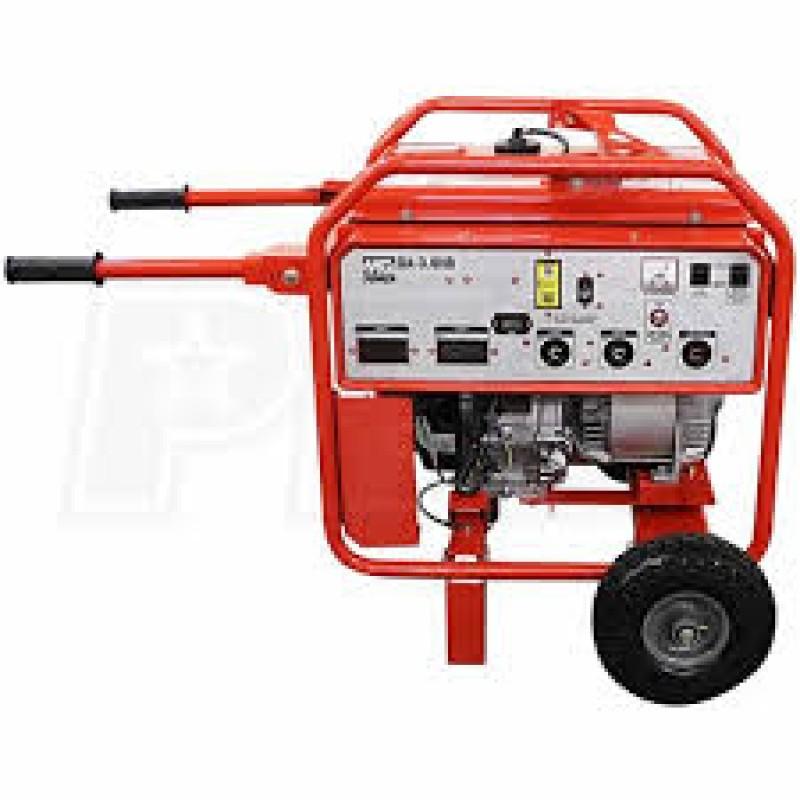 Multiquip Professional Portable Generator w- Honda GX Engine - GA6HR - 5000 Watt
