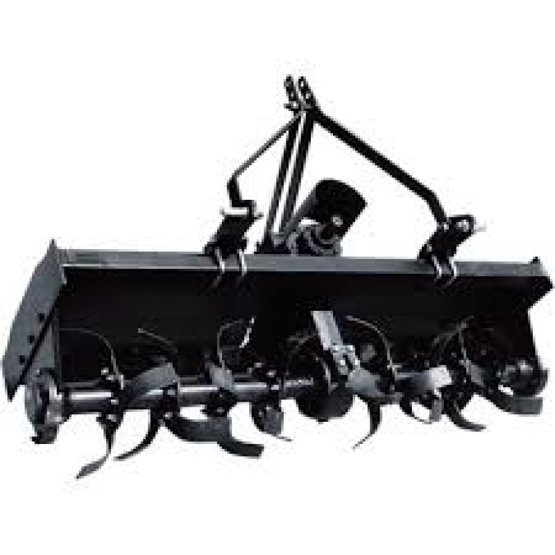 NorTrac 3-Pt. PTO Rotary Tiller - Category 2, 71in.W