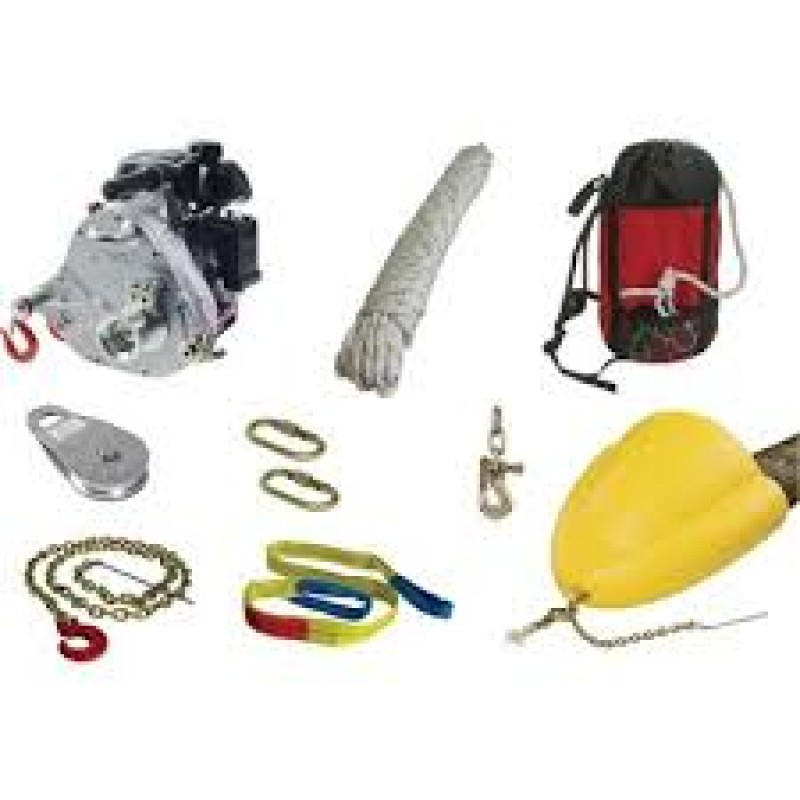 Portable Capstan Winch Forestry Kit