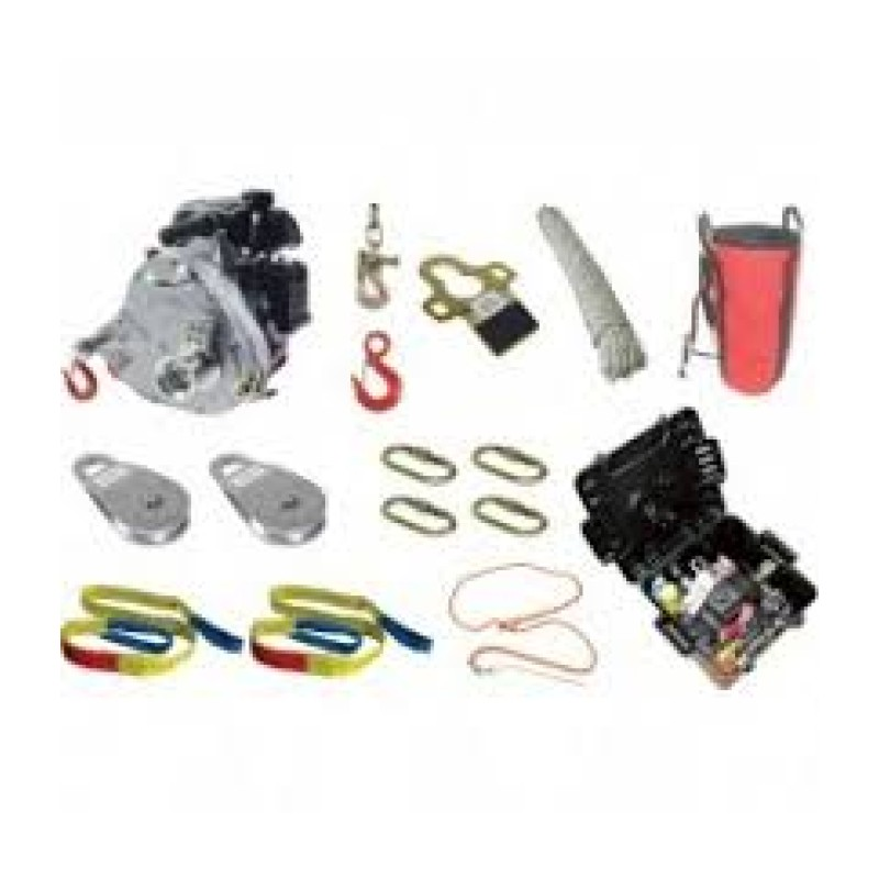 Portable Capstan Winch Hunting Kit