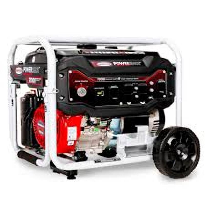 Simpson 70010 Electric Start Gas Powered Portable Generator - 7500 Watt