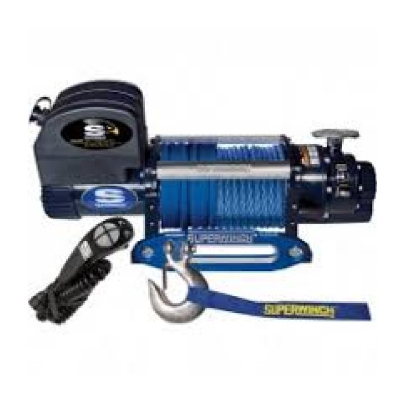 Superwinch 12 Volt DC Truck Winch with Remote - Pulling Capacity - 9500-Lb.