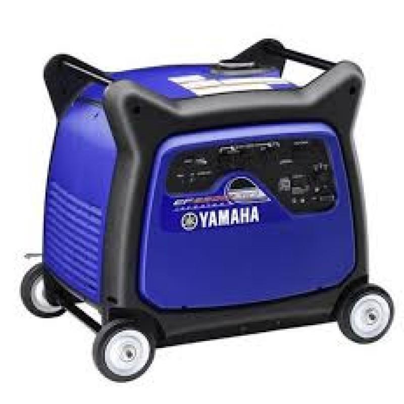 Yamaha EF6300iSDE - Electric Start Inverter Generator (CARB) - 5500 Watt